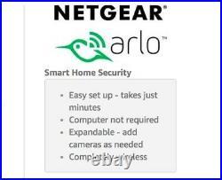 Brand New Arlo Smart Home 3 Hd Security Camera Kit Netgear Vms3330-100eus