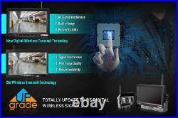 Bus Truck Caravan Dual Digital Wireless Reversing Rear View Monitor/Camera kits