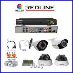 CCTV 4CH 2MP 1080P HD DVROutdoor Home Security Camera System Kit 1TB HDD