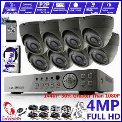CCTV DVR Full HD HDMI 3MP 4MP 1440P Camera Night Vision Home Security System Kit
