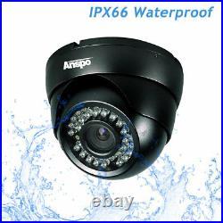 CCTV DVR System Kit 8 Channel HD Recorder & Cameras Outdoor 3000TVL 2MP 1080P UK