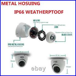 CCTV System Full HD DVR 2.4MP 1080P Outdoor IR Night Home Camera Security Kit