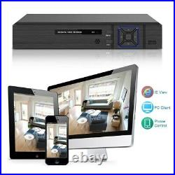 CCTV System Kit 4CH DVR Recorder Home Outdoor Security HD Camera With Hard Drive
