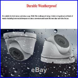 CCTV ULTRA HD 5MP NightVision Outdoor DVR HIK-CONNECT Home Security System Kit