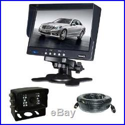 C-KO Camera Kit with 7 Screen and Heavy Duty Night Vision Reverse Rear View Cam