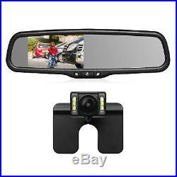 Car Rear View Kit 4.3 LCD Mirror Monitor + Night Vision Reverse Backup Camera