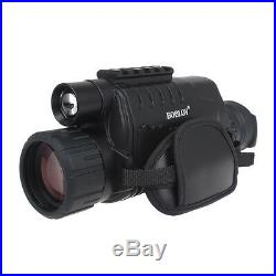 Digital IR Night Vision Monocular Camera DVR +Free 2 Battery+Charger Kit+8GB SD