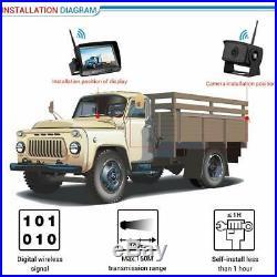 Digital Wireless Reversing Camera Kit, Stable Signal Reverse Camera, Super Night