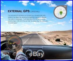 Dual Channel F1.6 GPS Wifi Viofo A129 Duo Car Dash Cam +64G Card & Hardwire Kit