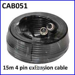 Easy-Fit Hi-Res 7 Dash Reversing Camera Kit S/ Steel CCD Camera- PM61