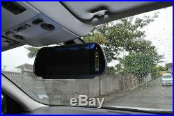 Easy-Fit Hi-Res Mirror Reversing Camera Kit with Compact motorhome CCD Camera
