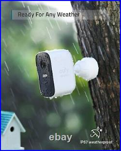 Eufy Security, eufyCam 2C Pro 2-Cam Kit, Wireless Home Security System with 2K