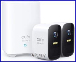Eufy eufyCam 2C Wireless Home Security Cameras, 180 Days Battery, 1080p 2 cam kit