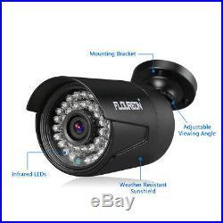 FLOUREON 8CH 1080N AHD DVR +4X 1080P Camera + 1TB Hard Drive CCTV Security Kit