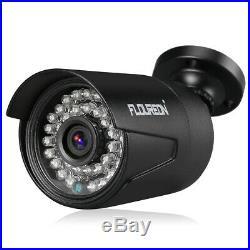 FLOUREON 8CH 1080P AHD DVR Outdoor 3000TVL 2.0MP Camera CCTV Security System Kit