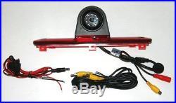 Fiat Ducato, Citroen Relay, Peugeot Boxer, Rear Brake Light Reversing Camera Kit