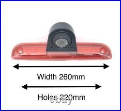 Fiat Ducato Van 2006 2018 Reversing Camera Kit With Integrated Brake Light