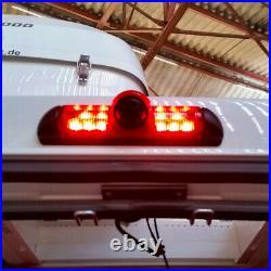 Fiat Ducato Van 2006 2021 Reversing Camera Kit With Integrated Brake Light