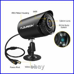 Floureon 8 Channel DVR CCTV Kit with 4 X nightvision outdoor cameras