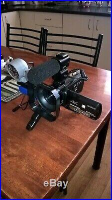 Ghost Hunting Equipment, professional IR Night Vision camcorder kit