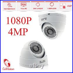 GoVision Home CCTV Full HD 3MP 4MP 1080P Day Night Vision Security Cameras Kit