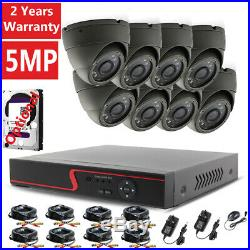 Govision 5mp Cctv System 4k Uhd Dvr 4ch 8ch Hd Outdoor Camera Home Security Kit