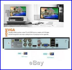 Govision CCTV 5MP HD 1080P Night Vision Outdoor DVR Home Security System Kit UK