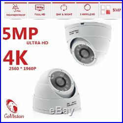 Govision CCTV HD 1080P 5MP Night Vision Outdoor DVR Home Security System Kit