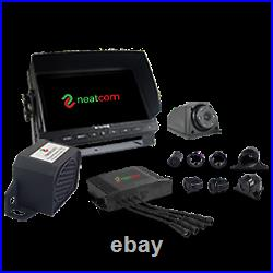 HGV DVS KIT, HD 720p CAMERA, SIDE SENSOR, LEFT TURN ALARM, STICKERS LORRY/TRUCK