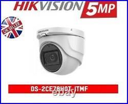 HIKVISION 8MP 4CH Dvr & 4 X 5MP HD TVI Camera HD CCTV Camera System, 1TB HDD UK