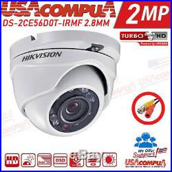 HIKVISION Security System KIT 4 CAMERAS 4CH Turbo HD DVR 1080P LITE (1TB HDD)