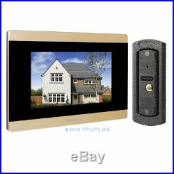 HOMSECUR 7'' Video Intercom with Metal Cased Camera for HD Infrared Night Vision