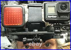 Hero7 Black Night Vision Full Spectrum RageCams Infrared Light Mod Headband Kit