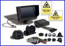 Hgv Dvs Kit, Camera, Side Sensor, Left Turn Alarm, Stickers Lorry/truck