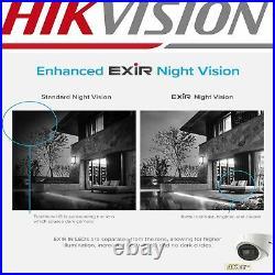 Hikvision 4k 8mp Cctv System Camera 8ch 16ch Dvr 60m Ir Video Cctv Security Kit