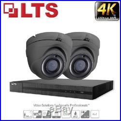 Hikvision 5mp 8mp Dvr Cctv Night Vision Outdoor Home Smart Security System Kit