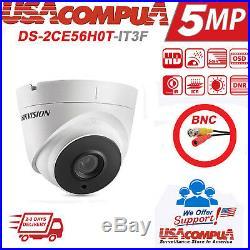 Hikvision 5mp Cctv System 4k-uhd Dvr 8ch Exir 20m Night Vision Camera Kit 3tb