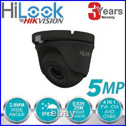 Hikvision 5mp Cctv System Dvr 4ch 8ch Hd Outdoor Dome Camera Home Security Kit