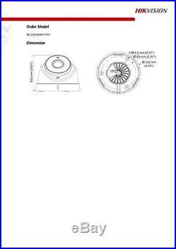 Hikvision 5mp Cctv System Uhd 4k Dvr 4ch 8ch 40m Ir Night Vision Grey Camera Kit