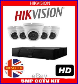 Hikvision CCTV 8CH HD 8MP CAM Night Vision Outdoor DVR Home Security System Kit