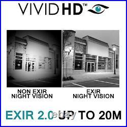 Hikvision CCTV HD 5MP Colour Cast Camera Night Vision DVR Home Security Kit 1080