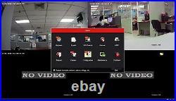Hikvision DS-7616NI-Q2/16P 16 CH 4K 8MP NVR 16 x 2MP Dome IP POE Camera System
