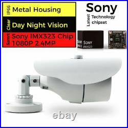 Hikvision Hilook 4CH CCTV Full HD DVR 1080P Night Day Camera Home System Kit