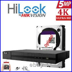 Hikvision Hilook 5mp Cctv System Hd Dvr 4ch 8ch Colorful Night Vision Camera Kit