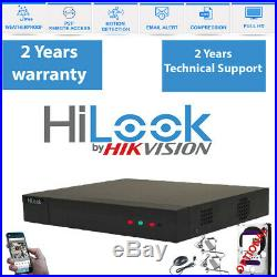 Hikvision Hilook CCTV HD 1080P Night Vision Outdoor DVR Home Security System Kit