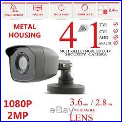 Hikvision Hilook Cctv System 4ch 8ch 1080p Dvr Night Vision Turret Hd Camera Kit