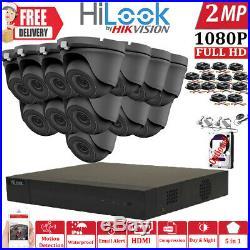 Hikvision Hilook Cctv System 4ch 8ch 16ch Dvr Night Vision Full Hd Camera Kit Uk