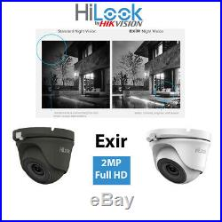 Hikvision Hilook Hd Cctv System 4ch 8ch Dvr Dome Night Vision Outdoor Camera Kit