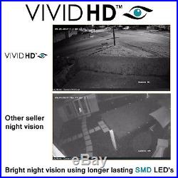 Hikvision Hiwatch Cctv System 4ch 8ch 16ch Dvr Dome Night Vision Camera Full Kit