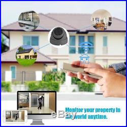 Hikvision Hiwatch Cctv System 4ch 8ch Dvr Dome Night Vision Camera Full Kit